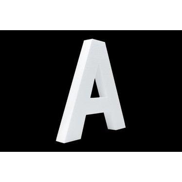 Cristallo Blanco letter A