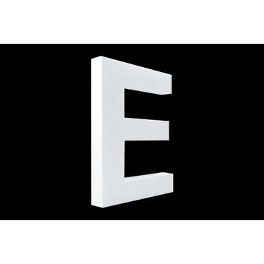 Cristallo Blanco letter E