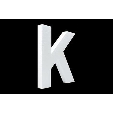 Cristallo Blanco letter K