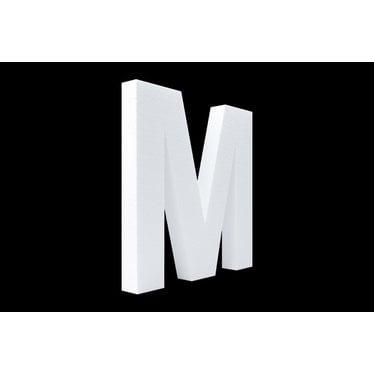 Cristallo Blanco letter M