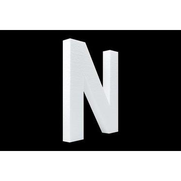 Cristallo Blanco letter N