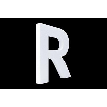 Cristallo Blanco letter R