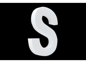 Cristallo Blanco letter S