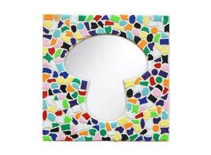 Cristallo Spiegel Paddestoel Vario Mozaiek pakket