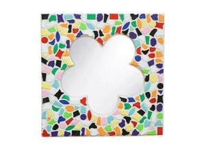 Cristallo Spiegel Bloem Vario Mozaiek pakket