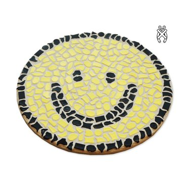 Cristallo Wandbord Mozaiek pakket Smiley