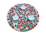 Cristallo Mozaiek pakket Waxinelichthouder Kerst