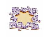 Cristallo Mozaïek pakket Fotolijst Ster Wit-Paars-Violet