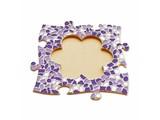 Cristallo Mozaïek pakket Fotolijst Bloem Wit-Paars-Violet
