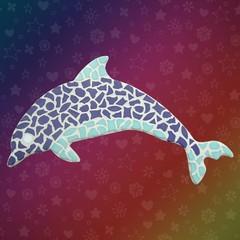 Cristallo Mozaiek pakket Dolfijn