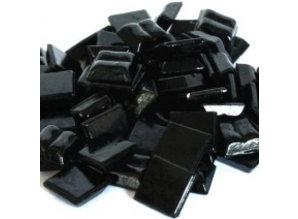 Cristallo Glas-mozaieksteentjes 1x1 cm ca. 200 stuks Zwart