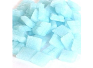 Cristallo Glas mozaiek steentjes 1x1 cm ca. 200 stuks Lichtblauw