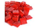 Cristallo Glas-mozaieksteentjes 1x1 cm ca. 200 stuks Rood
