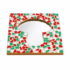 Cristallo Mozaiek pakket Spiegel Paddenstoel Kerst