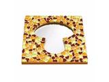 Cristallo Mozaiek pakket Spiegel Paddenstoel Bruin-Oranje-Geel