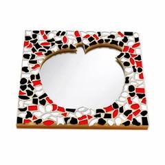 Cristallo Mozaiek pakket Spiegel Appel Rood-Zwart-Wit