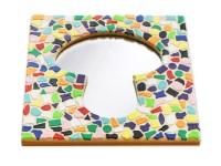 Mozaiek pakketten spiegels Paddenstoel