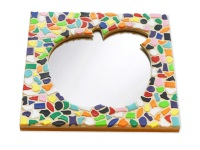 Mozaiek pakketten spiegels Appels