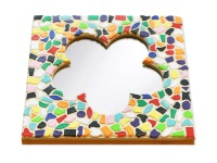 Mozaiek pakketten spiegels Bloem