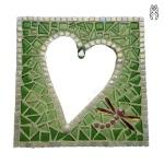 Mozaiek Spiegel Hart Glorio