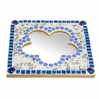 Cristallo Mozaiek pakket Spiegel Bloem Tireno Blauw