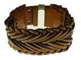 Z3UZ lederen armband, L408
