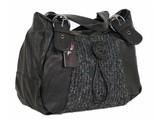 Just Lili trendy tas met knoop, zwart -50%