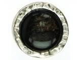 Sari Design 27 mm, donker grijs/zilver