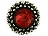 Sari Design chique button, rood