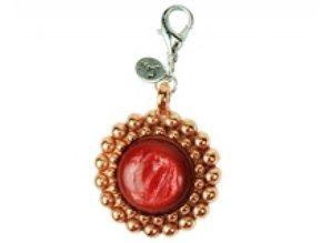 Sari Design bedel, rosé/rood