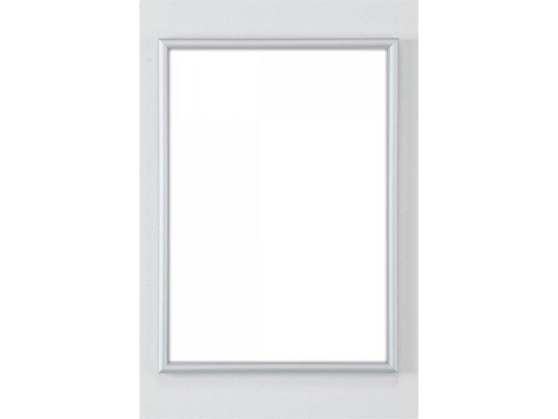 DLF Wissellijsten Q-line mat zilver - aluminium design lijsten