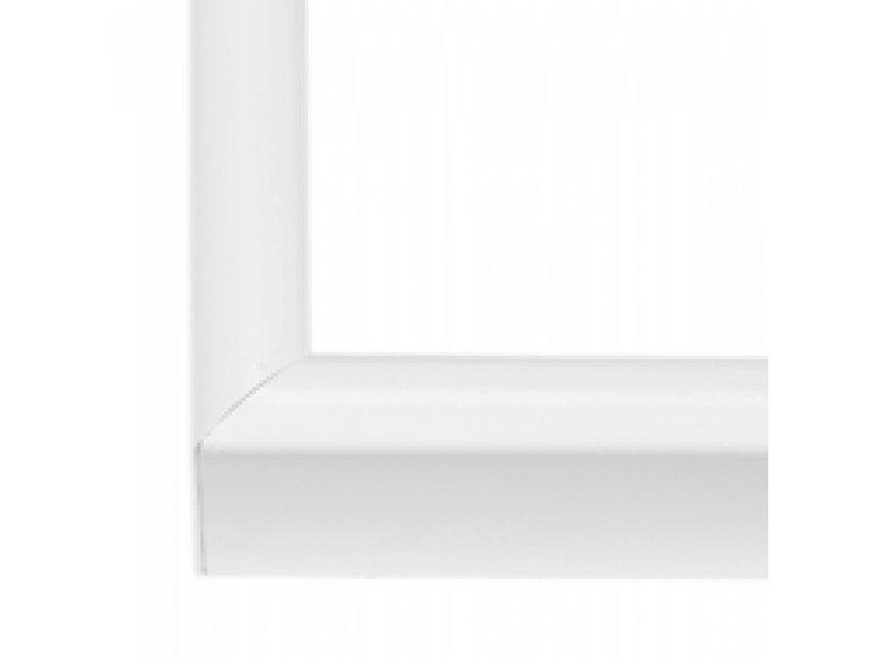 DLF Wissellijsten Q-line lak wit - aluminium lijsten