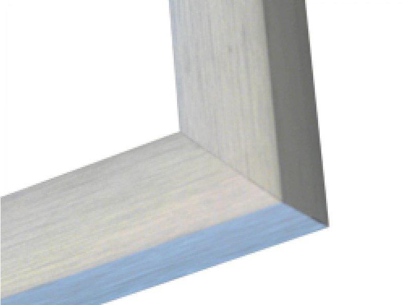 DLF Wissellijsten Luxury mat zilver - luxe wissellijst aluminium