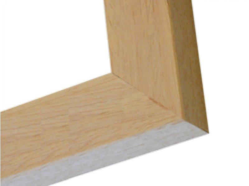DLF Wissellijsten Exclusive blank ongelakt - houten luxe lijsten