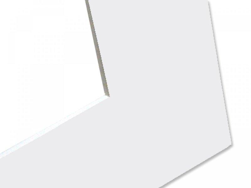 DLF Basic Passe partouts Very White met een witte kern