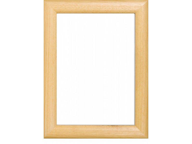DLF Wissellijsten Prestige blank gelakt - houten afgeronde lijsten