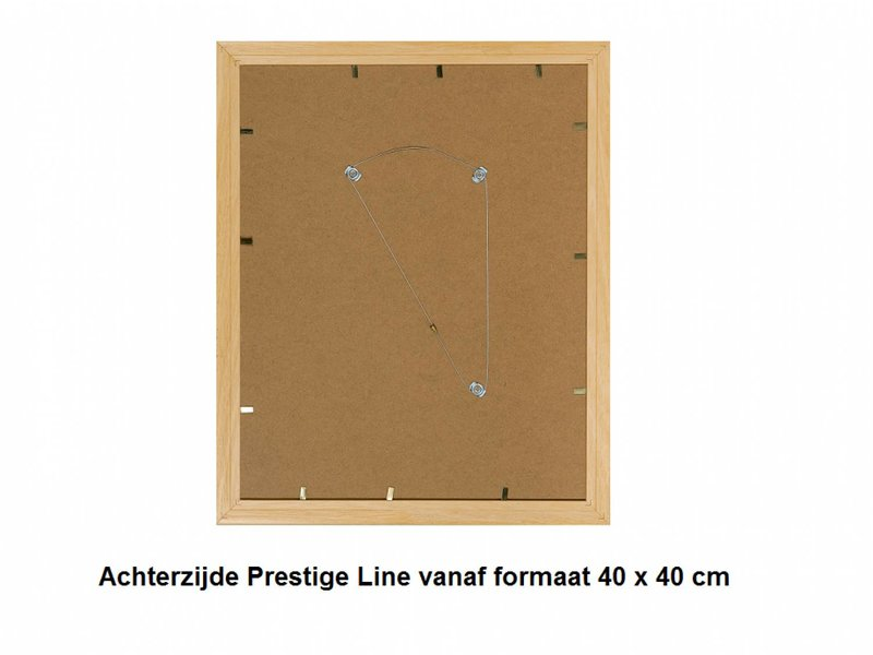DLF Wissellijsten Prestige zwart - houten afgeronde lijsten
