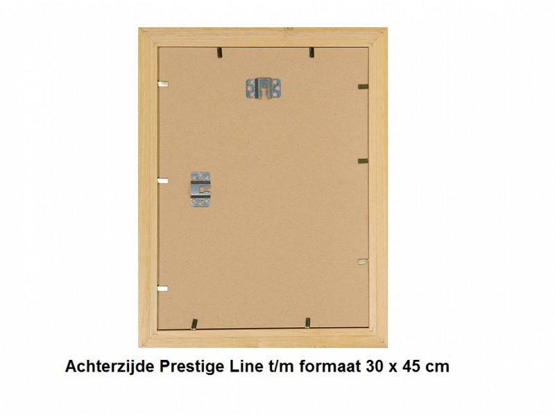 DLF Wissellijsten Prestige goud - houten halfronde lijsten