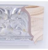 DLF Premier Ornament XL mat zilver - zeer brede lijst met ornament