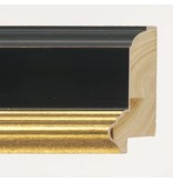 DLF Premier Century XL zwart goud - zeer brede lijst met opstaande rand