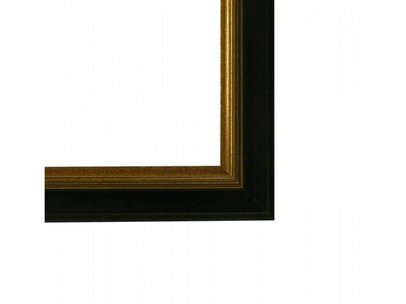 DLF Premier Century M zwart goud - lijst met opstaande rand