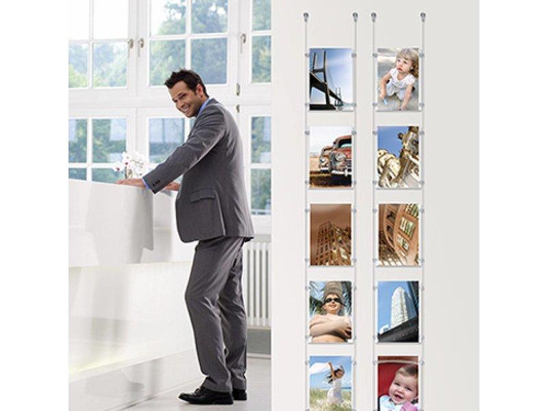 Display-It E-Clip: set voor de presentatie van 5 A4 foto's