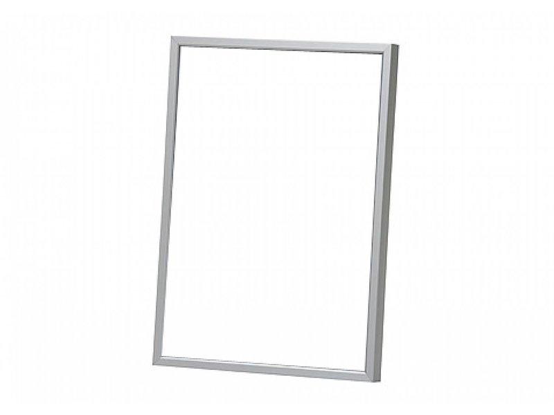 DLF Wissellijst D-Line mat zilver, design wissellijsten in het mat zilver
