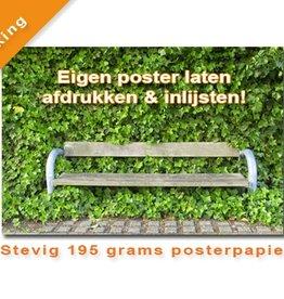 Eigen Basic Poster afdrukken & inlijsten