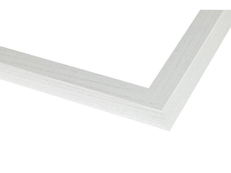 DLF Wissellijsten Phantom wit eiken - houten luxe lijsten