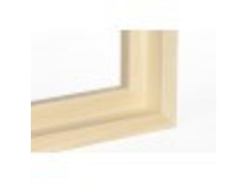 DLF Premium XL Baklijst blank - inlijsten schilderij of foto op doek