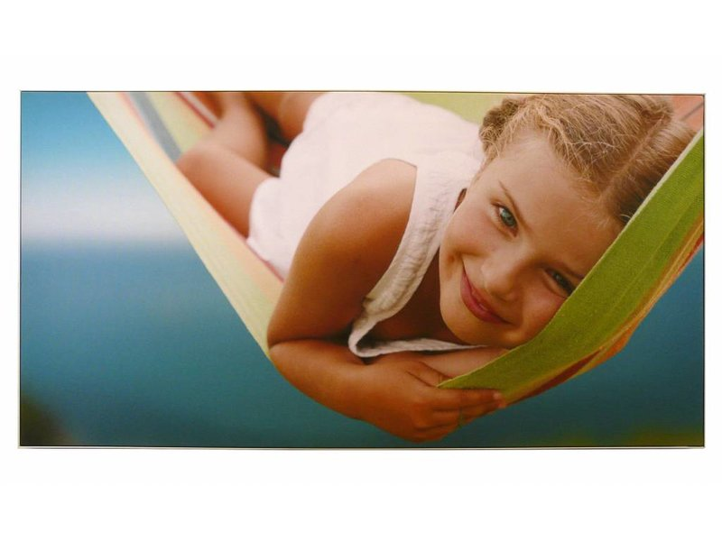 DLF Exclusive D-Sign dubbel Textielframe (50 mm) inclusief 2 textiel prints