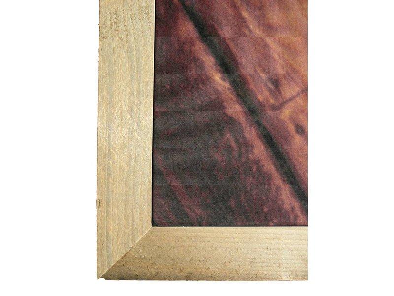 DLF D-Sign Textielframe steigerhout voor een warme en moderne uitstraling