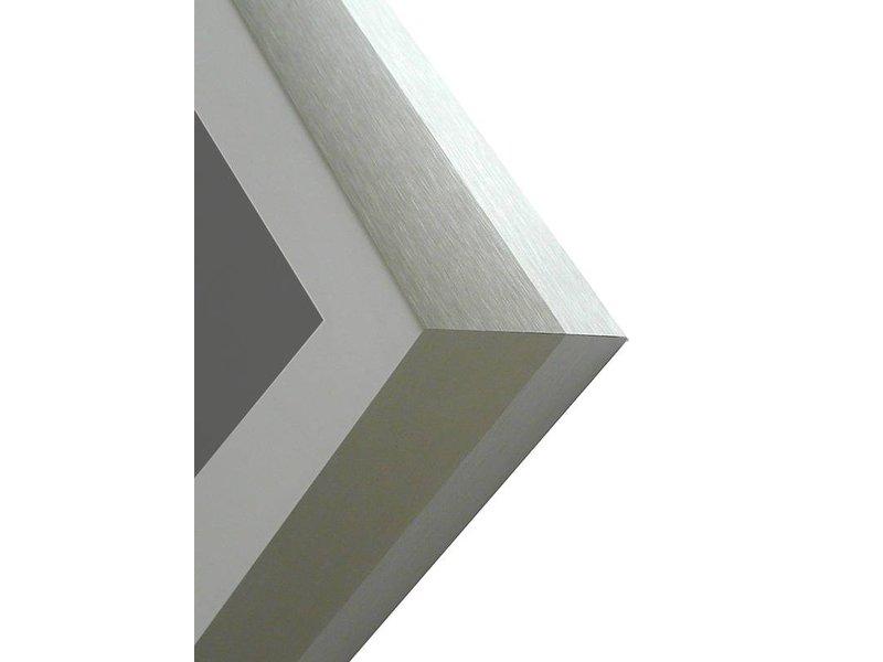 DLF Pro Line XL mat zilver, wissellijsten in het mat zilver