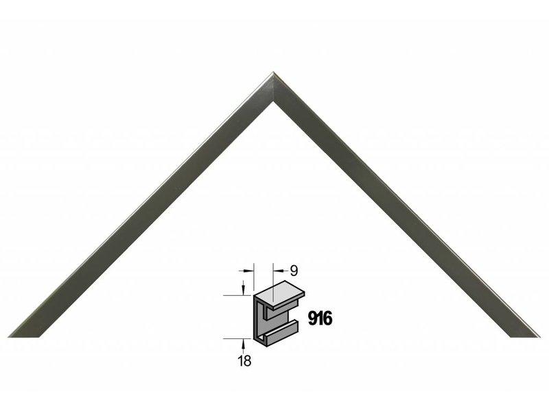 Barth Wissellijst aluminium wissellijst 916 contrast grijs